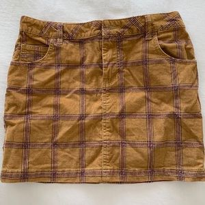 urban outfitters BDG plaid skirt - size 0